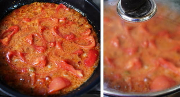 Italienischer Nudelauflauf mit Auberginen und Tomaten - Rezept - Bild Nr. 9