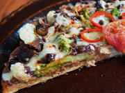 Gemüsepizza mit Pilzen – Pizza verdure con funghi - Rezept - Bild Nr. 3