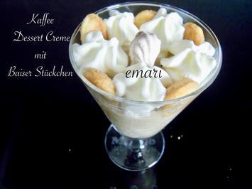 Kaffee Dessert Creme mit Baiserstückchen - Rezept - Bild Nr. 11