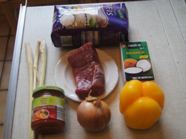 Hüftsteak mit Zitronengras und gelber Basmatireis - Rezept - Bild Nr. 3