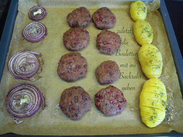 Schwedische Kartoffeln und gebackene Zwiebelringe - Rezept - Bild Nr. 10