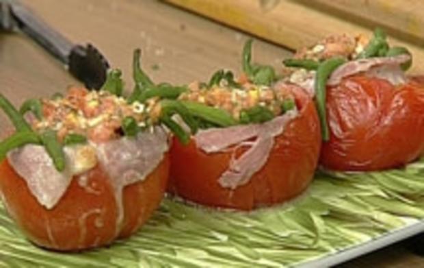 Bohnen-Tomaten - Rezept