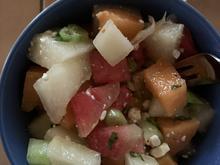 Melonen-Salat mit Feta - Rezept - Bild Nr. 2