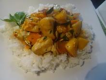 Fisch-Kokos-Curry mit Mango - Rezept - Bild Nr. 10913