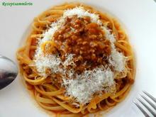 Pasta:   BAVETTE zu BOLOGNESE - SAUCE - Rezept - Bild Nr. 2