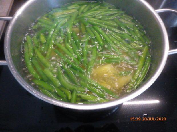 Eier - Kartoffel - Salat mit Bacon - Rezept - Bild Nr. 3