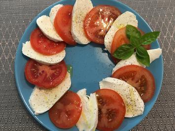 Tomate-Mozzarella-Teller - Rezept - Bild Nr. 2
