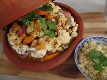 Gemüse-Tajine mit Aprikosen und Couscous - Rezept - Bild Nr. 10961