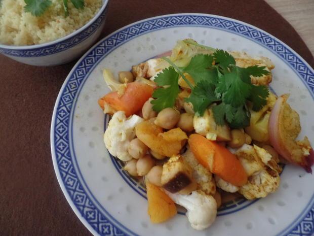 Gemüse-Tajine mit Aprikosen und Couscous - Rezept - Bild Nr. 10971