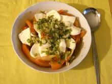 Mozarella - Tomaten Salat - Rezept