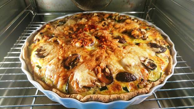 Zucchini-Speckquiche - Rezept - Bild Nr. 11