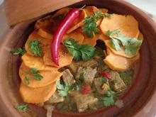 Rindfleisch-Tajine mit Süßkartoffeln - Rezept - Bild Nr. 10956
