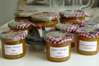 Orangen-Ingwer-Marmelade 'schwäbisch'*) - Rezept - Bild Nr. 10
