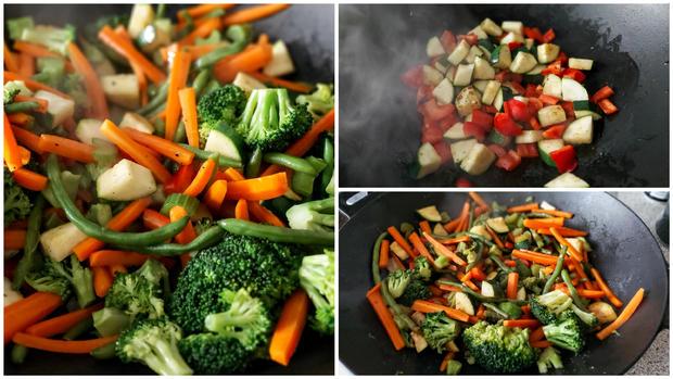 Beilage - Gemüse aus dem Wok - Rezept - Bild Nr. 12