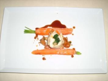 Kaninchenrolle mit Pata Negra Schinken - Rezept