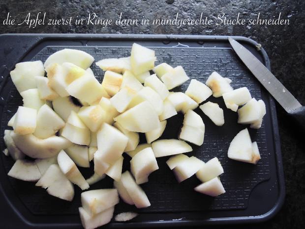 rote Pudding Äpfelchen - Rezept - Bild Nr. 4