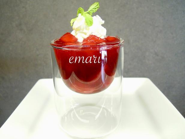rote Pudding Äpfelchen - Rezept - Bild Nr. 10