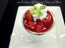 rote Pudding Äpfelchen - Rezept - Bild Nr. 9