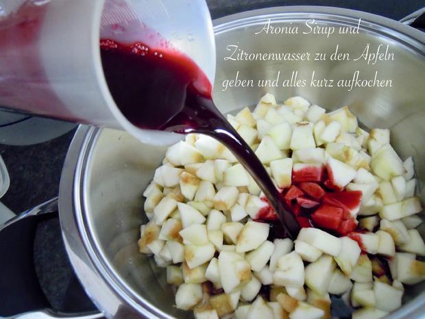 rote Pudding Äpfelchen - Rezept - Bild Nr. 12