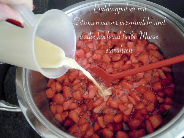 rote Pudding Äpfelchen - Rezept - Bild Nr. 13