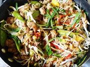 Würzige Schweinefleischpfanne mit Gemüse - Rezept - Bild Nr. 2