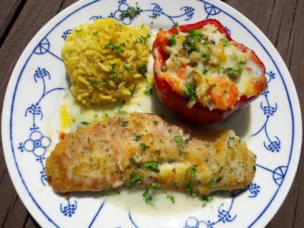 Paprika mit Gemüse-Reis-Füllung - Rezept - Bild Nr. 14