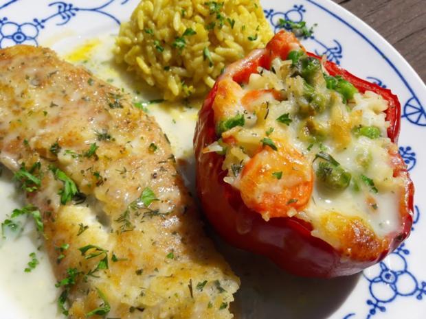 Paprika mit Gemüse-Reis-Füllung - Rezept - Bild Nr. 15
