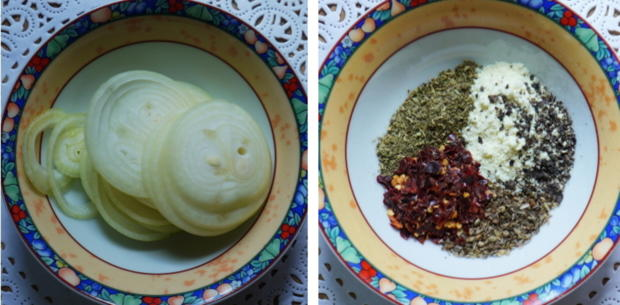 Italienische, überbackene Kartoffeln - Patate al forno - Rezept - Bild Nr. 4