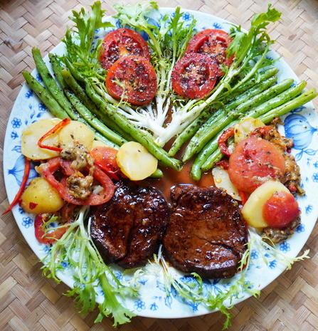 Italienische, überbackene Kartoffeln - Patate al forno - Rezept - Bild Nr. 9