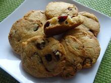 Cranberry-Pistazien-Cookies - Rezept - Bild Nr. 2