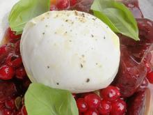 Büffelmozzarella mit marinierter Rote Beete - Rezept - Bild Nr. 2