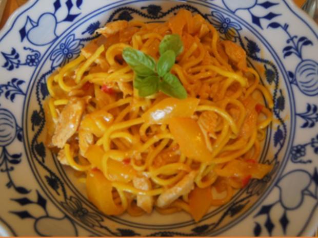 Rotes Thai-Curry mit Mie-Nudeln - Rezept - Bild Nr. 2