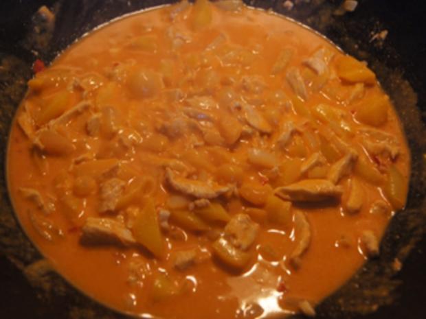 Rotes Thai-Curry mit Mie-Nudeln - Rezept - Bild Nr. 19