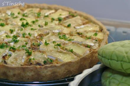 Camembert-Kartoffel-Tarte - Rezept - Bild Nr. 15