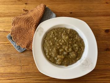 Crockpot: Deftige Erbsensuppe mit Würstchen - Rezept - Bild Nr. 2