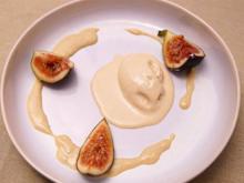 Tahini Ice Cream, Cardamom Anglaise, Filo Tuile, Fig Brulée - Rezept - Bild Nr. 2