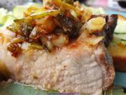 Iberico Karree (Kotelett) als schnelles Mittagessen im Sommer - Rezept - Bild Nr. 2