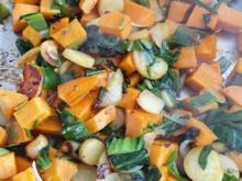 Gemüsepfanne fix gemacht (mit zusätzlicher Variante Restepfanne) - Rezept - Bild Nr. 2