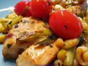 Putenbrustfilet mit Spätzle und Tomate - Rezept - Bild Nr. 2