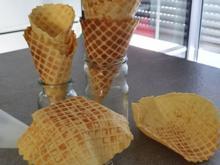 Eiswaffeln (Butter Karamel Geschmack) - Rezept - Bild Nr. 2