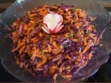 Rotkohlsalat asiatisch - Rezept - Bild Nr. 2