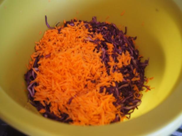 Rotkohlsalat asiatisch - Rezept - Bild Nr. 6
