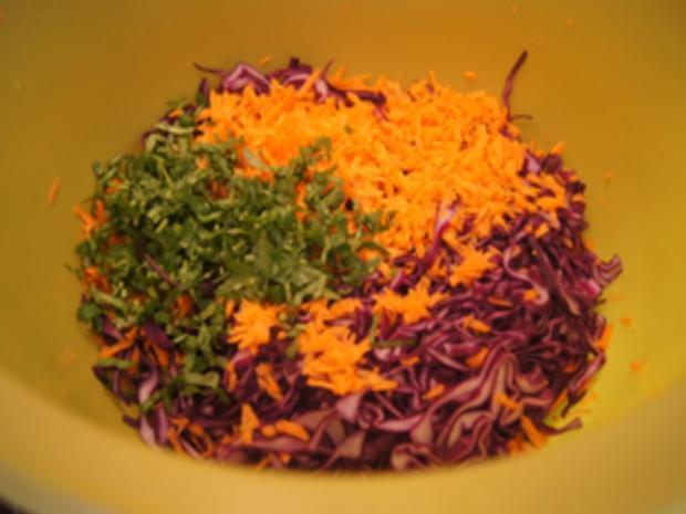 Rotkohlsalat asiatisch - Rezept - Bild Nr. 9