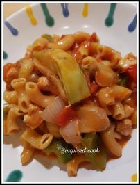 Schnelle Hühnchen Pasta - Rezept - Bild Nr. 6