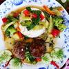 Würzige Hackfleischbällchen mit Cap-Cay und Reis - Rezept - Bild Nr. 2