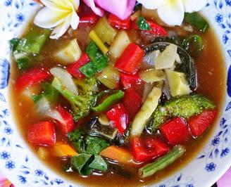 Würzige, italienische Gemüsesuppe  - Minestrone alla Francesca - Rezept - Bild Nr. 2