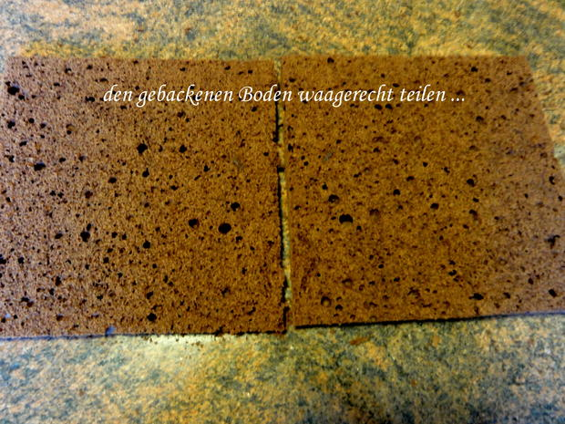 Rührteig:   SCHOKOLADEN ~ TORTE - Rezept - Bild Nr. 9