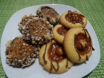 Karamell-Macadamia-Cookies - Rezept - Bild Nr. 2