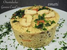 Orientalisches Gemüse Cous Cous - Rezept - Bild Nr. 11070