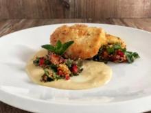 Kokos-Huhn mit Quinoa-Obstsalat (MoTrip) - Rezept - Bild Nr. 2